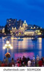 Inner Harbor in Victoria, BC