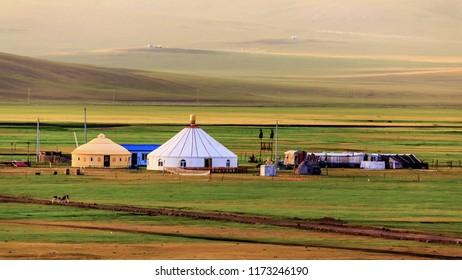 Inner Mongolia Hulunbeier Mozhog River Mongolian Tribes