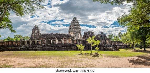 The inner sanctuary of Prasat Hin Phimai, ancient Khmer temple complex or landmark in Nakhon Ratchasima province, Thailand