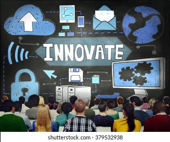 Innovate Innovation Technology Connection Network Concept