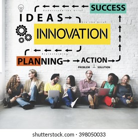 Innovate Research Change Improvement Process Concept