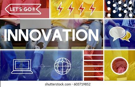 Innovation Creative Ideas Imagination Modern