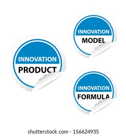 Innovation product, Innovation model, Innovation formula - jpeg format.