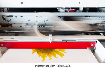 Innovation shirt and textile printer machine.
