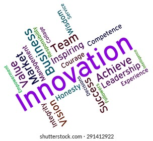 Innovation Words Meaning Creative Invention And Conception
