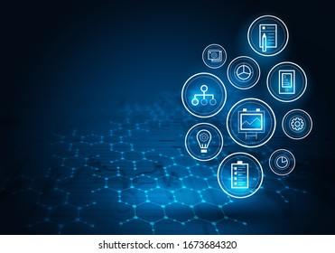 Innovative technologies image . Mixed media