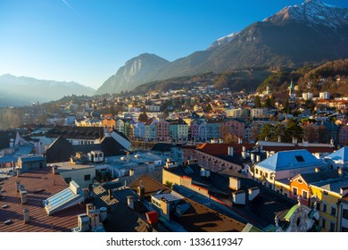 Innsbruck, Austria During the Day with Clear Skies