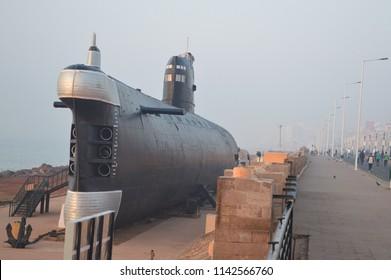 INS Kursura Submarine Museum, Vizag, India