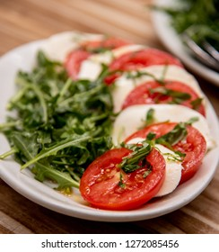 Insalata Caprese or Tomato, Rocket and Mozzarella Salad