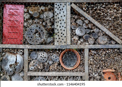 Insect hotel, nature protection