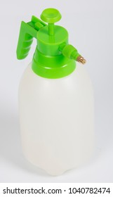insecticide sprayers on isolated white background