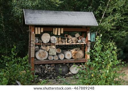 Insektenhotel Stock Photo Edit Now 467889248 Shutterstock