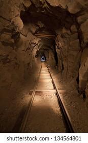 Inside an Abandoned Mine in the Nevada Desert