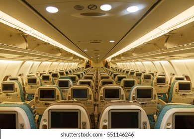 Inside the aircraft