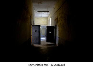 Inside Amasra old prision