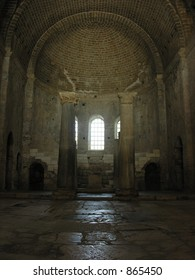 inside the ancient church