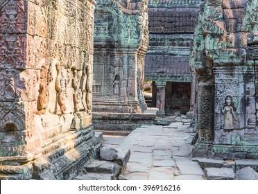 Inside Angkor Wat