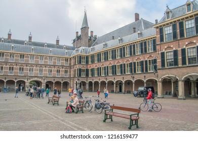 Inside The Binnenhof The Netherlands 2018