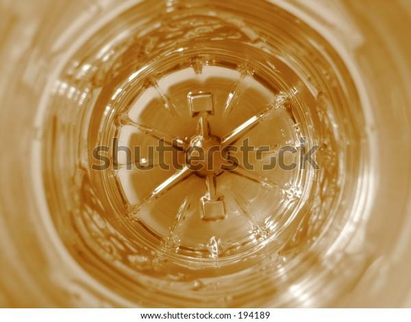 Inside bottle