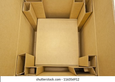 Inside brown color boxes