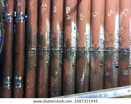 Inside Cfb Power Plant Boiler Between Stock Photo (Edit Now ...