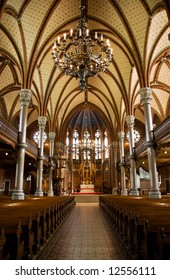 Inside of a church (Lund, Sweden)