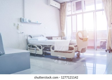 Inside clean room hospital on morning