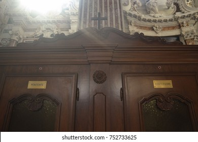 inside the confessional