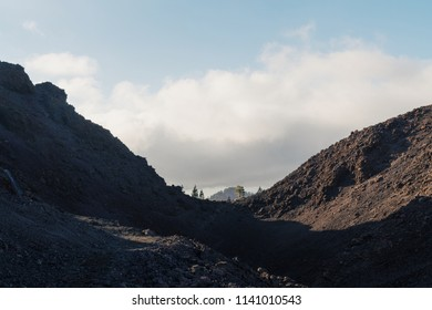 Inside the dead volcano view