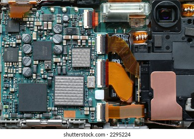 Inside a digital camera