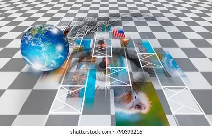 Eye Icon Globe Stock Photos Images Photography Shutterstock