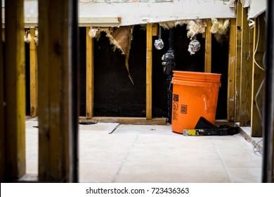 Inside a home devastated by Hurricane Harvey