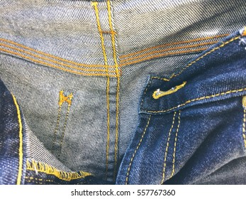 Inside jeans denim the details garment