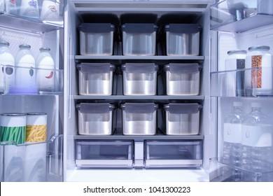 Inside Kimchi refrigerator