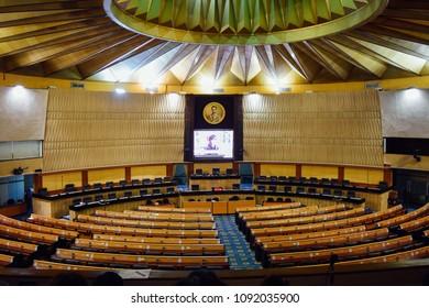 Inside meeting room of Parliament house of Thailand, Bangkok, Thailand[9/5/2017]