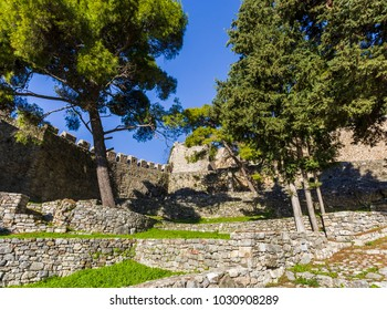 inside the Nafpaktos fortress