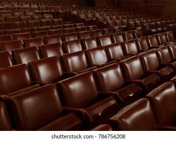 Inside old concert hall