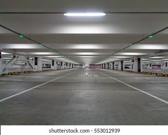Inside Parking Lot
