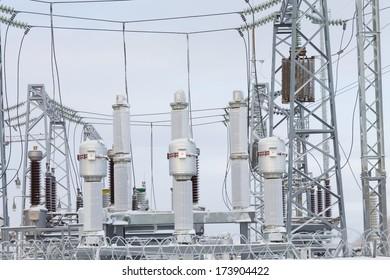 inside  power station winter