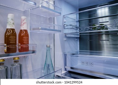 Inside of refrigerator fridge