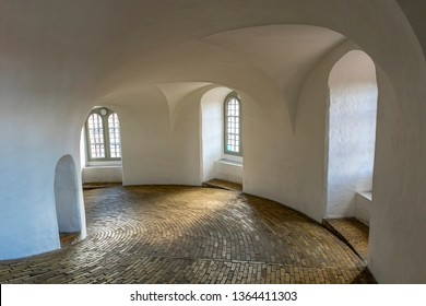 Inside of The Round Tower Copenhagen, Denmark