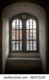 Inside of Round Tower in Copenhagen, Denmark