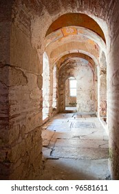 inside St. Nicholas church in Demre, Turkey