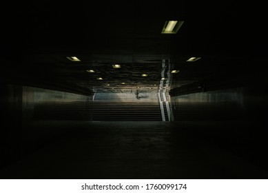 Inside the underpass. Russia, Moscow