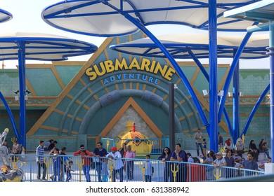 Inside View of Legoland at Dubai Parks and Resorts,Dubai, United Arab Emirates, Taken on December 1, 2016