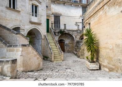 inside views of Matera city, 2019  European capital of culture, Unesco