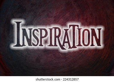 Inspiration Concept text on background