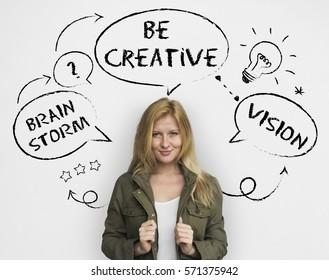 Inspiration Creative Ideas Brainstorming Concept