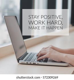 Inspiration motivation quote about