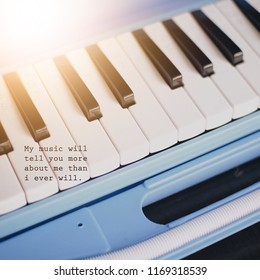 Inspiration motivation quote about music life new